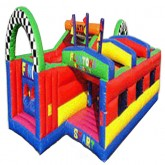 Platona Inflatable Obstacle Course Rental Miami