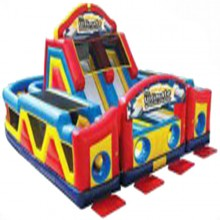 Ultimate Challenge Inflatable Obstacle Course Rental Miami