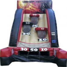 Heat Ball Inflatable Basketball Game Rental Miami