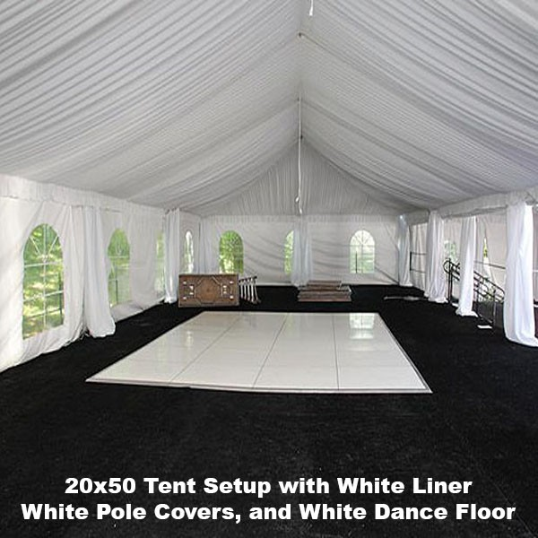 20x50 Tent Rental in Miami & Tent Rental in Miami