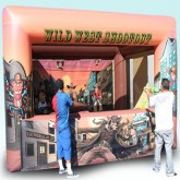 Wild West Shootout Inflatable Game Rental Miami