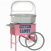 Cotton Candy with Vintage Cart