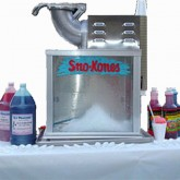 Tabletop Traditional Snowcone Machine