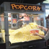 Deluxe Popcorn Machine Rental