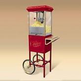 Popcorn Machine w/ Vintage Cart