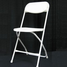 White Samsonite Folding Chair Rental