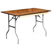 4FT Rectangular Table Rental Miami