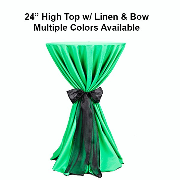High Top Table Linens Part - 26: Miami Party Supply