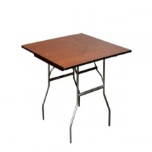 """30""""x30"""" Square Table Rentals Miami"""