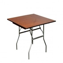 "36""x36"" Square Table Rentals Miami"