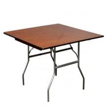 """60""""x60"""" Square Table Rentals Miami"""