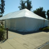 Solid White Tent Sidewall Rentals Miami