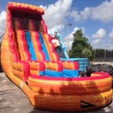 Fireball Water Slide With Pool Rental Miami