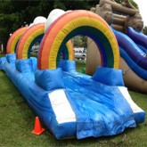 Rainbow Slip and Slide Rental Miami
