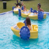 Paddle Boats w/ Lagoon Rentals