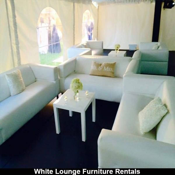 White leather couch rentals in miami for Furniture rental
