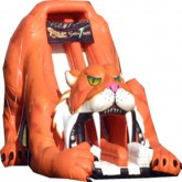27'Ft 3D Sabertooth Inflatable Slide