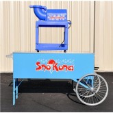 Snowcone Machine with Vintage Cart Rental in Miami