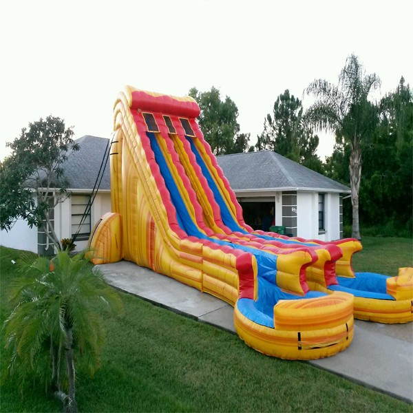 Inflatable Slide Fire Escape: Biggest Inflatable Water Slide Renral In Miami