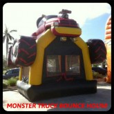 4X4 Monster Truck Bounce House Rental in Miami
