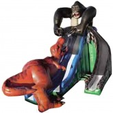 35'Ft 3D Kongo Krazy Inflatable Slide