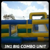Big 3N1 Combo Unit Rental Miami
