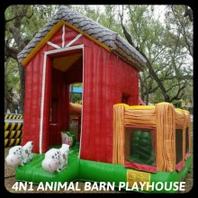 4N1 Animal Barn Playhouse