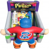 Pinball Action Inflatable Slide Rental Miami