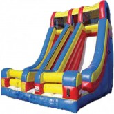 Dual Lane Inflatable Slide Rental Miami