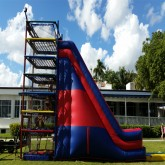 24'Ft Spider Mountain With Slide