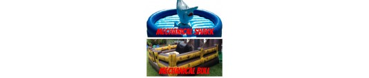 Mechanical Bulls / Sharks