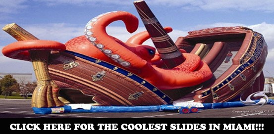Inflatable Slide Rentals in Miami